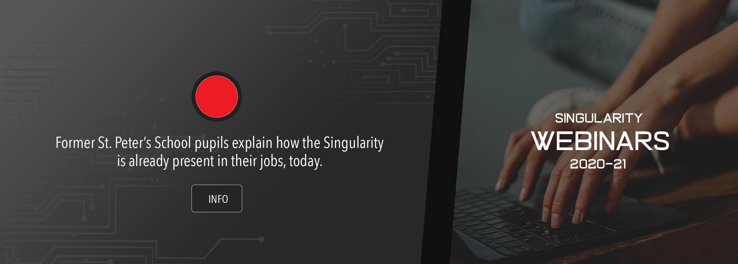 Singularity Webinars